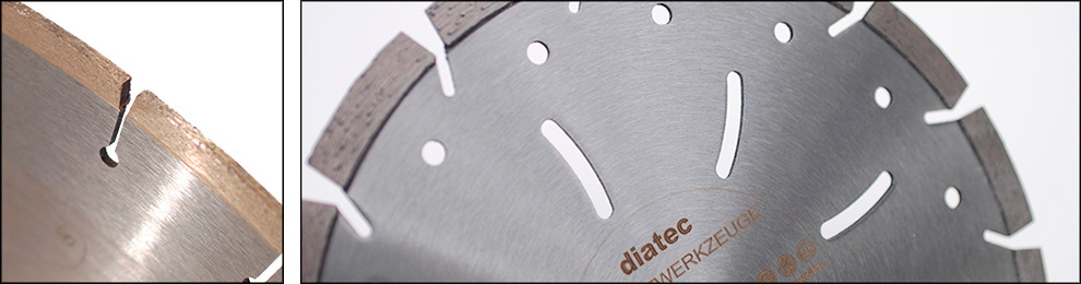 Trennscheiben- Diamantwerkzeuge - Diatec